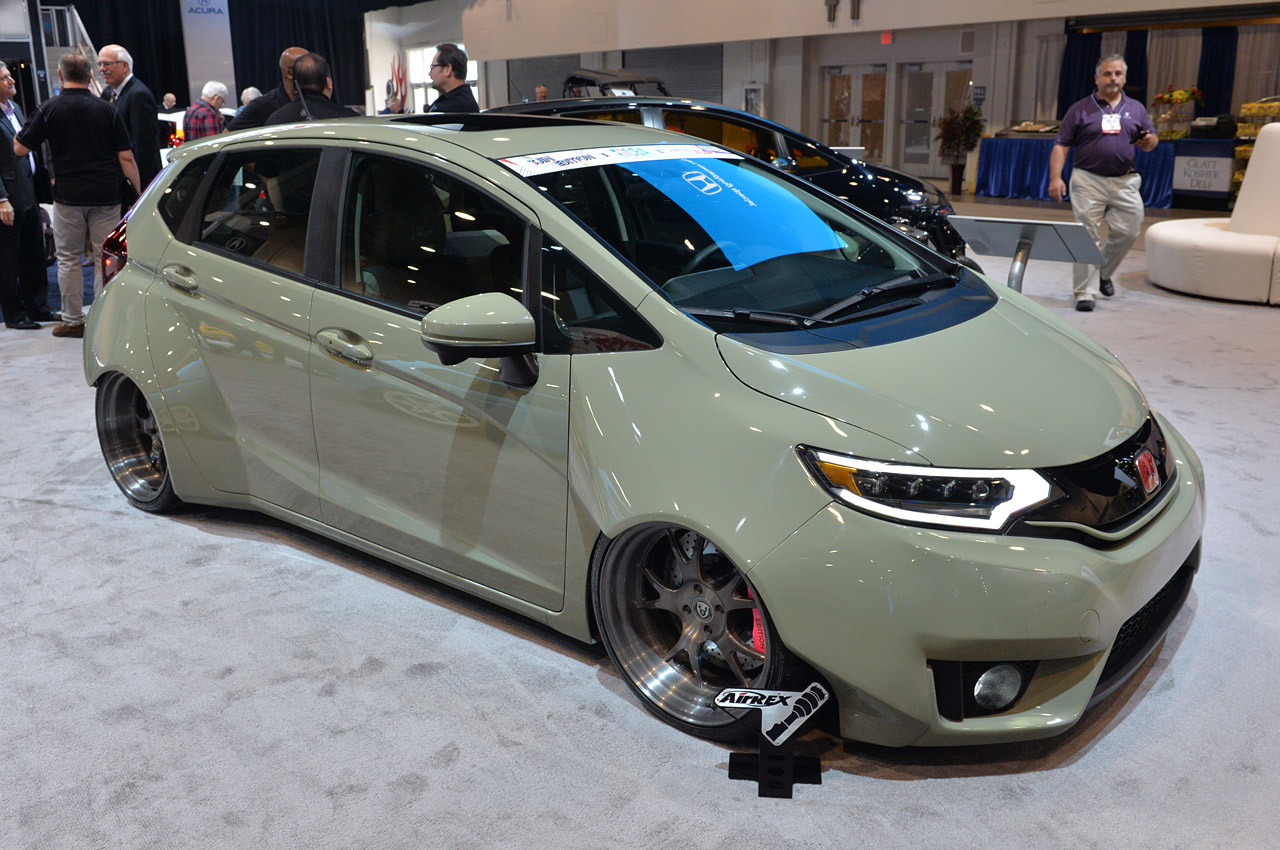 The 2015 Honda Fit Sema Show Stopper Howdy Honda Blog